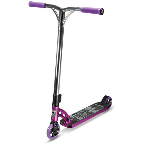 MGP VX6 Team Complete Stunt Scooter - Purple/Chrome