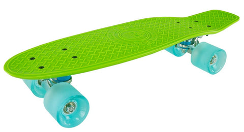 Madd Gear Pro Skins Retro Cruiser - Lime / Blue