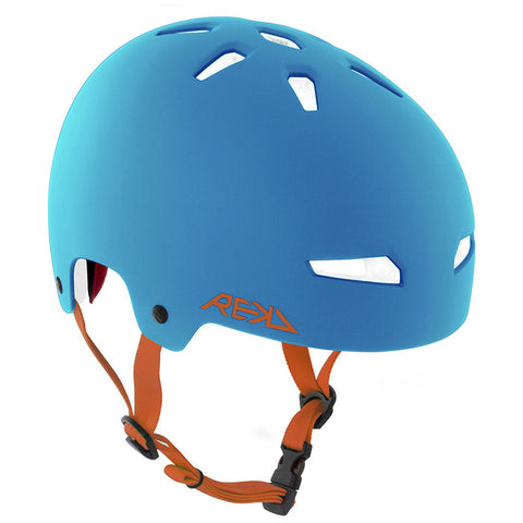 REKD Elite Skate and Bike Protective Helmet - Blue/Orange