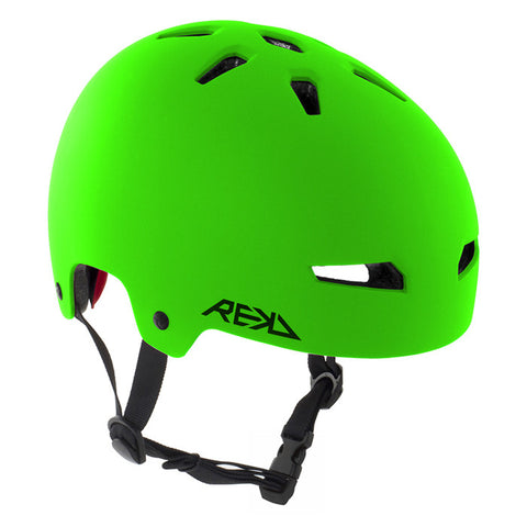REKD Elite Skate and Bike Protective Helmet - Green