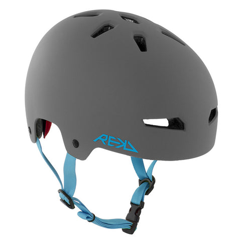 REKD Elite Skate and Bike Protective Helmet - Grey