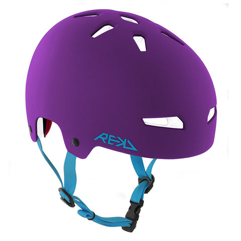 REKD Elite Skate and Bike Protective Helmet - Purple