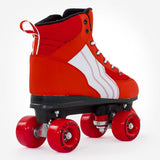 Rio Roller Pure Red/White Quad Roller Skates Rear View