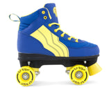 Rio Roller Pure Blue/Yellow Quad Roller Skates Side View