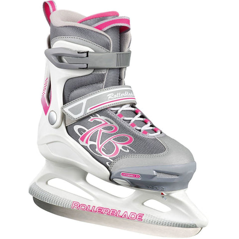 Rollerblade Comet Ice Hockey Skates - White/Pink
