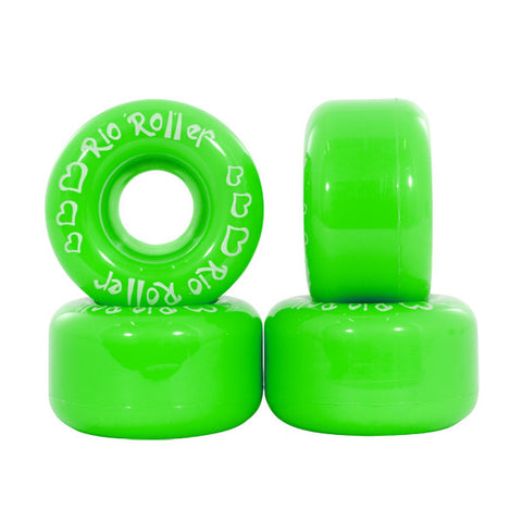 Rio Roller Coaster Lime Green Roller Skate Wheels