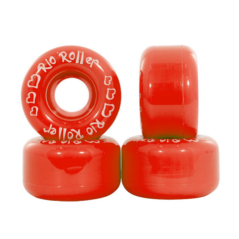 Rio Roller Coaster Red Roller Skate Wheels