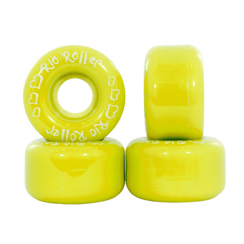 Rio Roller Coaster Yellow Roller Skate Wheels