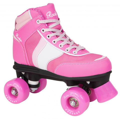 Rookie Pink Roller Skates - Main View