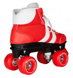 Rookie Retro V2.1 Red/White Roller Skates - side view