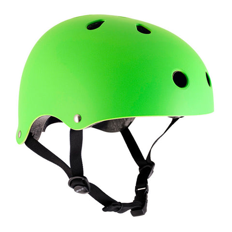 SFR Essentials Lime Green Adjustable Safety Helmet