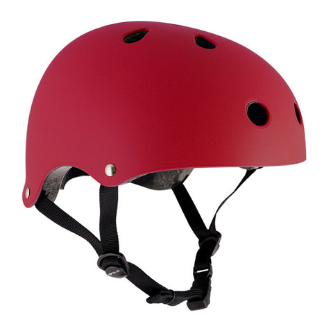 SFR Essentials Matt Red Adjustable Safety Helmet