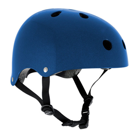 SFR Essentials Metallic Blue Adjustable Safety Helmet