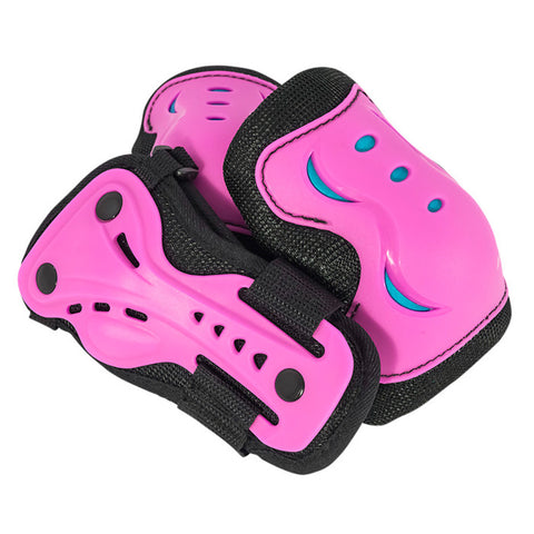 SFR Essentials Pink Blue Kids Triple Pad Set