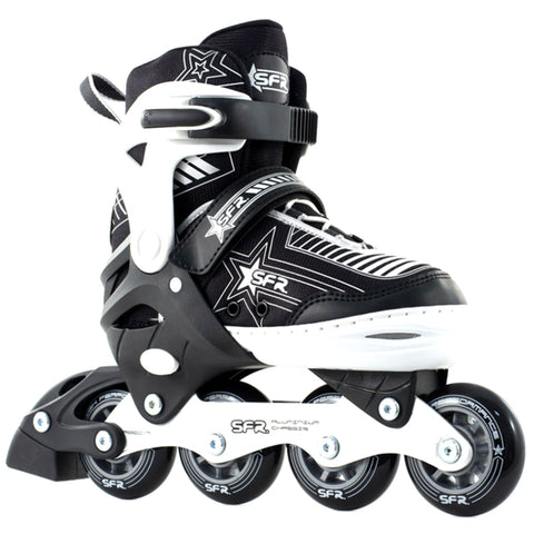 Silver Kids Adjustable Inline Skates - Main View