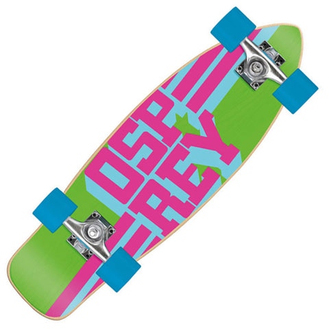 "Osprey Text 27.75"" Complete Cruiser Skateboard"