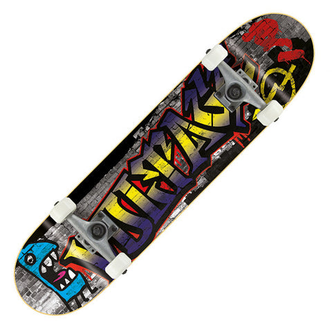 Voltage Graffiti Blue Complete Skateboard