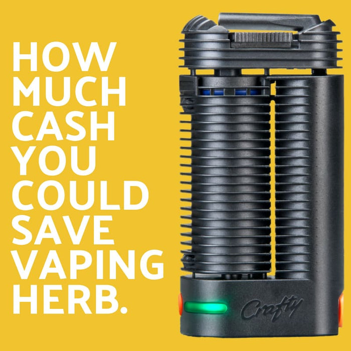 Here's How Much Money You Could Save By Vaping your Herb