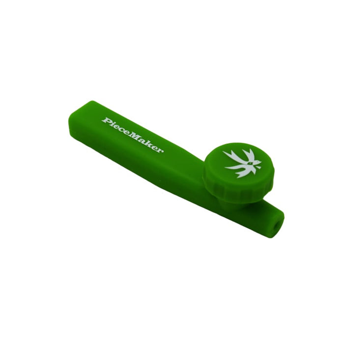 PieceMaker Pipe Green PieceMaker Kazili Silicone Pocket Pipe