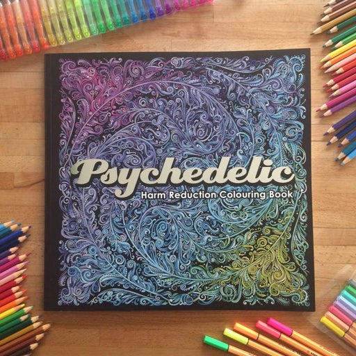 Urbanistic Book Psychedelic Colouring Book