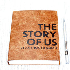 The Story of Us - perfect personalised wedding gift