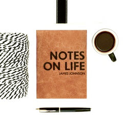 Notes on life - a gift for when you don't know what else to give someone?