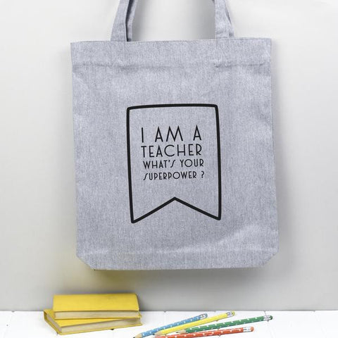 Teacher gift bag super power heroes
