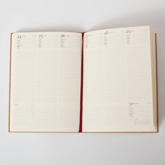 Vertical Week To View diary - 2017 diary - Hope House Press