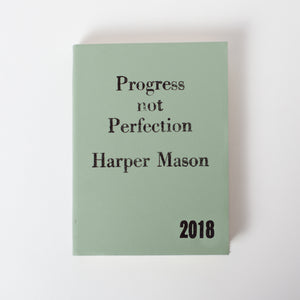 2020 diary - progress not perfection with vintage styling Diary / Journal- Hope House Press