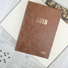 2019 diary - personalised diary - leather diary with bespoke personalisation Diary / Journal- Hope House Press