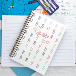 2020 personalised diary with monthly, weekly and daily diary options - Hope House Press