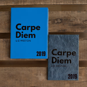 2019 diary - Carpe Diem diary - Seize the day diary Diary / Journal- Hope House Press