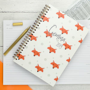 2019 diary, personalised with weekly, daily and monthly diary paper - the perfect organiser diary - Hope House Press