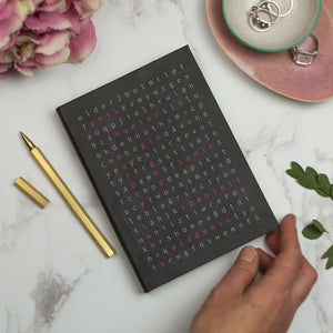 Personalised diary for 2019 - wordsearch 2.0 diary - brand new design. Diary / Journal- Hope House Press