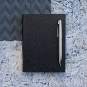 2018 diary - plain leather diary made in luxury leather Diary / Journal- Hope House Press