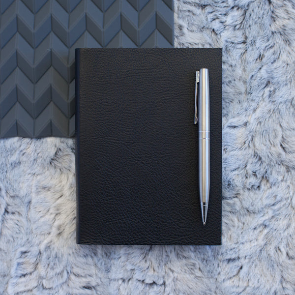 Luxury Italian - Plain leather diary 2017 - discreet personal diary for 2017 - by Hope House Press