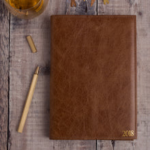 Reusable leather diary cover, handmade for Hope House Press - Hope House Press