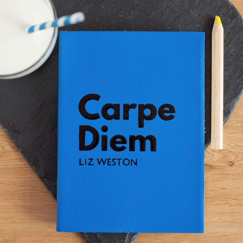 Carpe Diem diary - mid year diary perfect for academic school year with personalisation Academic Diary - Mid Year Diary- Hope House Press