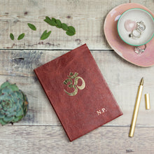 Diwali gift, om symbol gift with personalisation Notebooks / Journals- Hope House Press