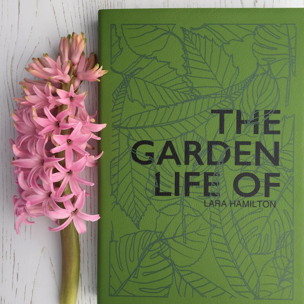 The Garden Life Of... - personalised notebook
