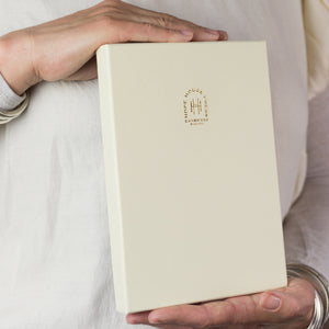 Self care notebook, a personalised notebook with A to Z of self care - Hope House Press