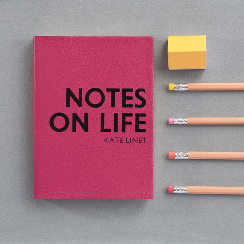 2018 diary - notes on life - luxury leather diary Diary / Journal- Hope House Press