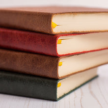 Academic year diary in luxury leather with sideline personalisation Academic Diary - Mid Year Diary- Hope House Press