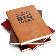 Little Book of Big Ideas Notebook - leather notebook / journal by Hope House Press Notebooks / Journals- Hope House Press
