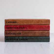 2019 diary - leather diary - bold capitals personalised leather bound diary Diary / Journal- Hope House Press