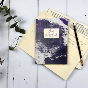 Personalised 2020 diary planners - set of four undated 90 day planners with monthly summary pages - Hope House Press
