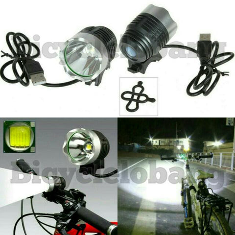 1-Cree Light USB 1800 Lumens Bright