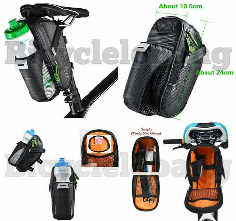 RockBros Saddle Bag with Bottle Holder