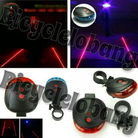 Rear Safety LED & Lasers Light
