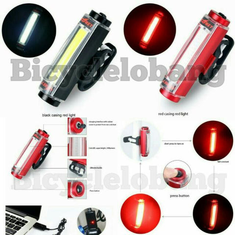 Comet USB Rechargeable Light Aluminum